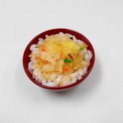 Ten-don (Rice with Tempura) Mini Bowl - Fake Food Japan