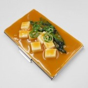 Tofu Miso Soup Business Card Case - Fake Food Japan