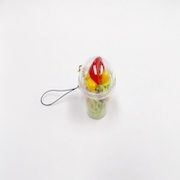 Tossed Salad (mini) Cell Phone Charm/Zipper Pull - Fake Food Japan