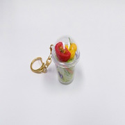 Tossed Salad (mini) Keychain - Fake Food Japan