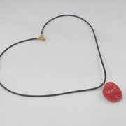 Umeboshi (Pickled Plum) (small) Necklace - Fake Food Japan
