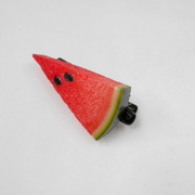 Watermelon (small) Ver. 2 Hair Clip - Fake Food Japan