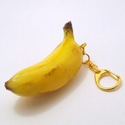 Whole Banana Keychain - Fake Food Japan