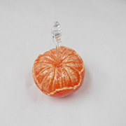 Whole Orange (large) Card Stand - Fake Food Japan