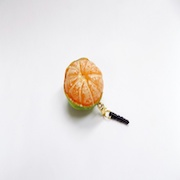 Whole Orange (small) Ver. 2 Headphone Jack Plug - Fake Food Japan