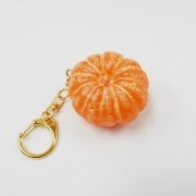 Whole Peeled Orange Keychain - Fake Food Japan