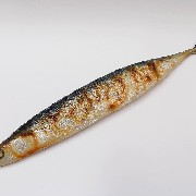 Yaki Sanma (Grilled Mackerel Pike) Keychain - Fake Food Japan