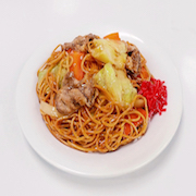 Yakisoba (Fried Noodles) Replica - Fake Food Japan